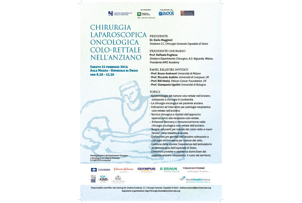 Chirurgia Laporoscopica Colo-Rettale nell'Anziano