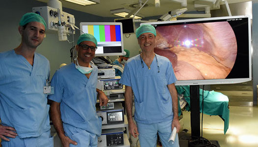 sistema laparoscopico 4k desio