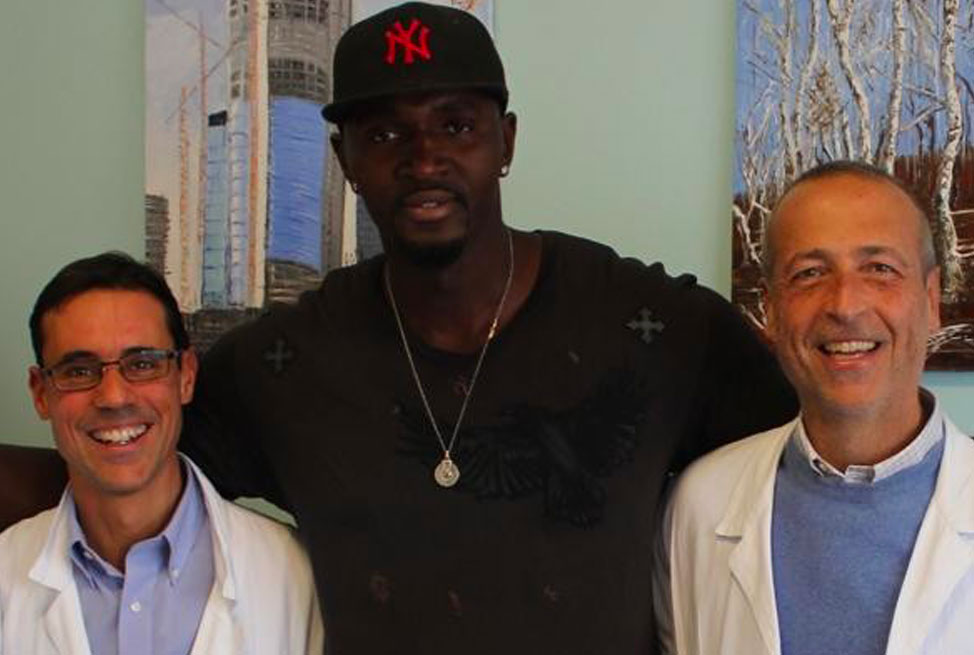 Pape Sow, l'ex stella del basket Nba si affida alle mani dei chirurghi di Desio